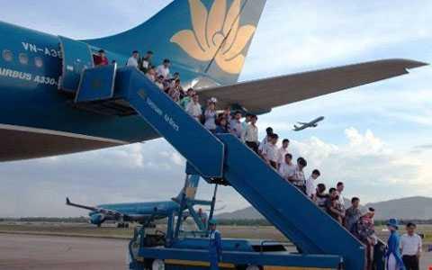Vietnam Airlines phải bồi thường cho khách do hủy chuyến, chậm chuyến... (Ảnh minh họa: Internet)