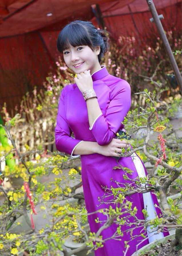 Nguyễn Trà Mi sinh năm 1995, lớp B1DS1, Học viện An ninh Nhân dân