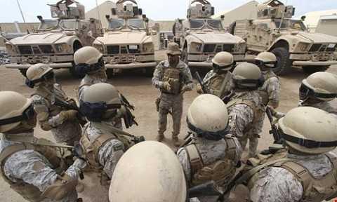 Lực lượng quân đội Saudi Arabia tham chiến tại Yemen