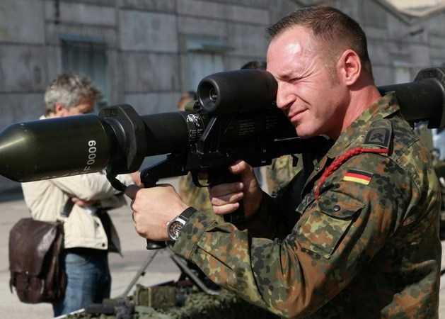 Một binh sỹ Đức ở Iraq