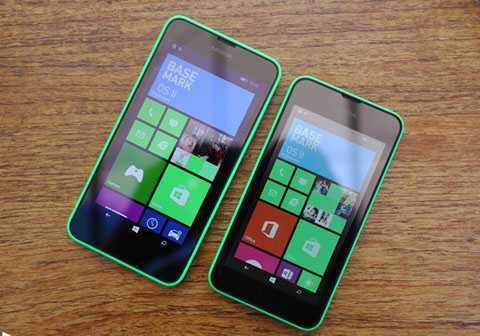 Nổi tiếng với những chiếc Lumia giá siêu   rẻ nhưng trong năm 2015, Microsoft gần như án binh bất động ở sân chơi   sở trường. Có thể phải đến cuối tháng 12, đầu tháng 1/2016, hãng mới cho   ra mắt chiếc Lumia 550 tại Việt Nam. Ảnh: Windows Central.