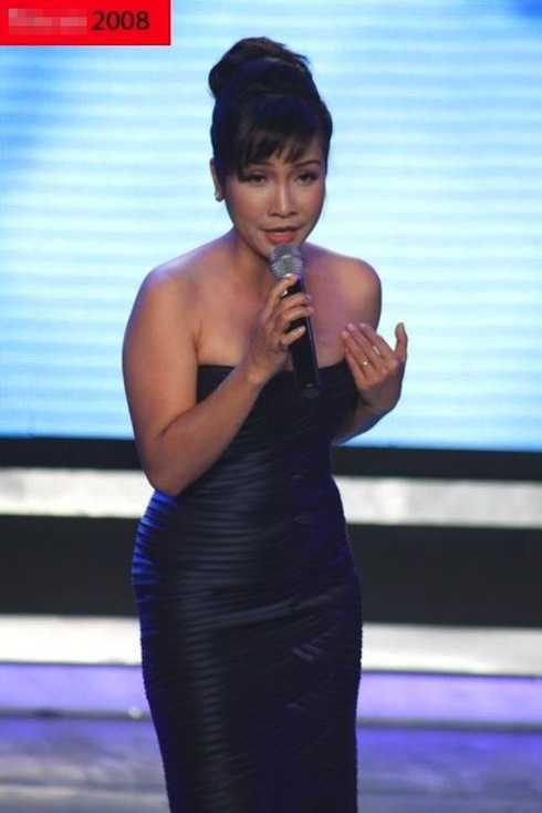 Năm 2008 - 2010, Mỹ Linh cũng tiếp tục có sự thay đổi trong ngoại hình.