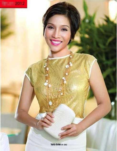 Mỹ Linh của năm 2012 trẻ trung, tươi mới và sành điệu hơn. Chị cũng được ca tụng là một trong những mỹ nhân 'không tuổi' của showbiz Việt.