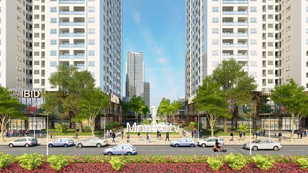 Thiết kế căn hộ Mon City khiến mọi phòng ngủ đều đón được ánh sáng tự nhiên và gió trời