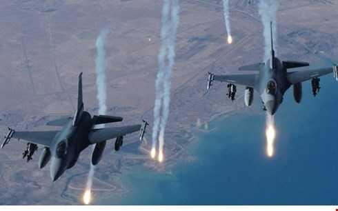 Chiến cơ tấn công mục tiêu dưới mặt đất của IS