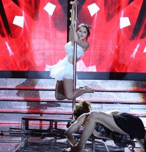 Mỹ Hoà - 'vợ Lý Hải' trong 'Lật mặt' về nhất với số điểm 9,58