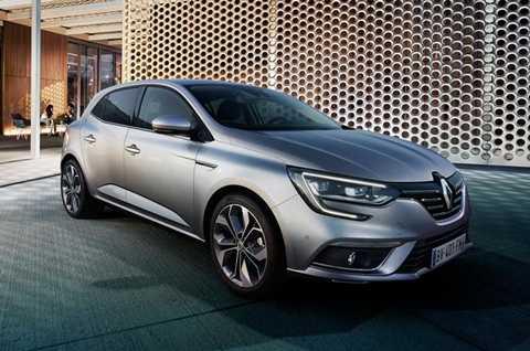 Renault Megane 2016 bán ra từ tháng 1/2016 với mức giá từ 28.000 USD