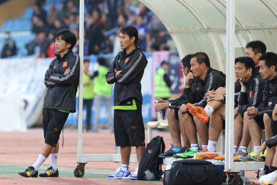 HLV Miura có thể thay đổi thế cờ vào phút chót (Ảnh: Quang Minh)