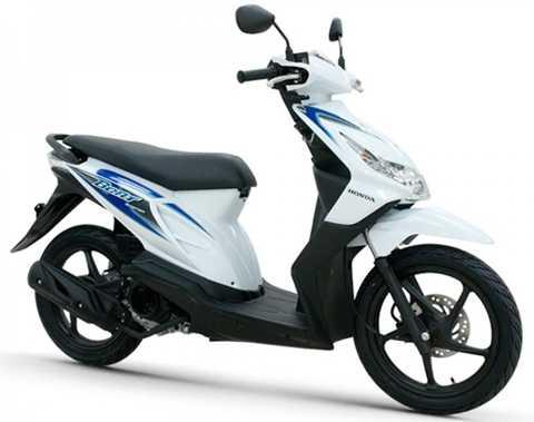 Beat - Xe tay ga cỡ nhỏ của Honda là xe máy bán chạy nhất Indonesia năm 2015 với khoảng 2 triệu xe