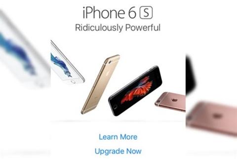 Apple quảng cáo quá đà?