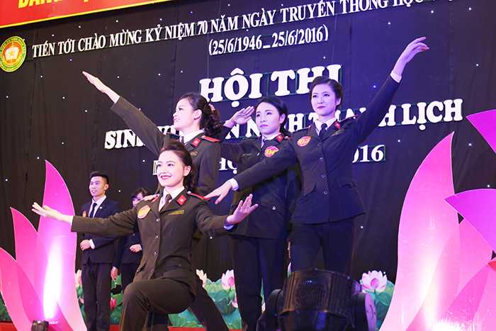 4 nữ sinh Học viện An ninh tài năng, xinh đẹp góp mặt trong đêm chung kết cuộc thi