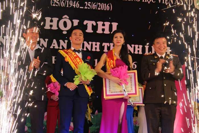 Cặp đôi Trương Thị Tuệ Nhi và Nguyễn Thành Tuân đã xuất sắc giành ngôi vị cao nhất cuộc thi.