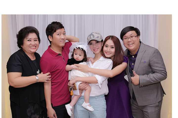 Trường Giang, Thu Trang, vợ chồng Gia Bảo