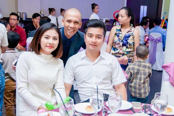 Nghệ sĩ Minh Tâm Bùi và vợ chồng diễn viên Vân Trang