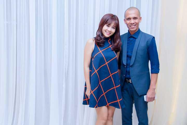 Nghệ sĩ Minh Tâm Bùi và diễn viên Mai Phương