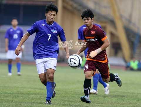 U23 Việt Nam học được nhiều từ 2 thất bại trước JFL Selection (Ảnh: Quang Minh)
