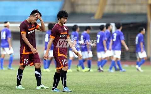 Tinh thần thi đấu của U23 Việt Nam là thứ HLV Miura muốn nhìn thấy nhất ở trận đấu giao hữu chiều nay với Cerezo Osaka (Ảnh: Quang Minh)