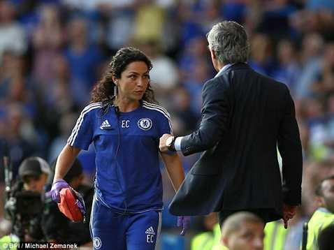 Mourinho gặp rắc rối ngay đầu mùa với nữ bác sĩ Eva