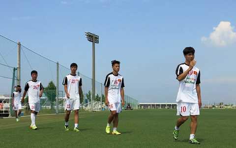 U19 Việt Nam tập huấn tại Nhật Bản cách đây 18 tháng