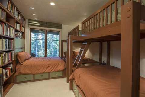 Phòng ngủ như thế này có thể thích hợp cho cả một gia đình đông đúc