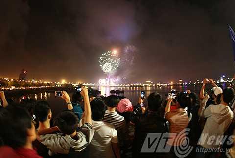 Thành phố Đà Nẵng sẽ tổ chức bắn pháo hoa tại 4 điểm trong đêm giao thừa Tết Bính Thân 2016.