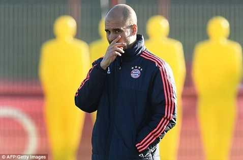 Pep Guardiola được đồn là sẽ sang Man City mùa sau
