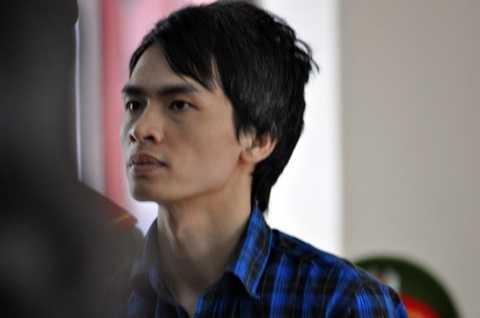 Vẻ mặt lạnh lùng khi nghe tòa tuyên án của Trần Văn Điểm - Ảnh: Đông Hà/Tuổi Trẻ