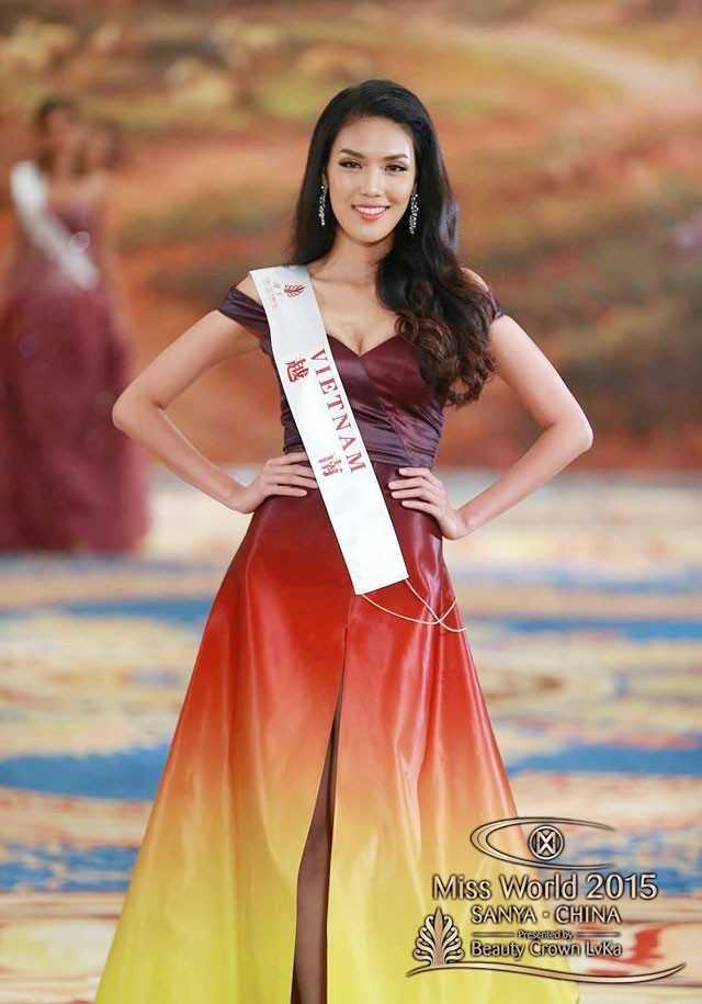 Lan Khuê tại Hoa hậu thế giới