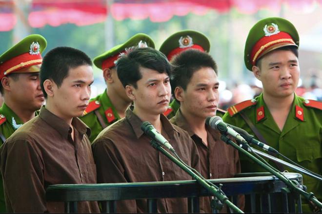 3 bị cáo trong vụ thảm án Bình Phước