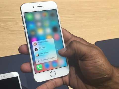 Phím tắt giúp thực hiện thao tác nhanh trên ứng dụng của iPhone 6S