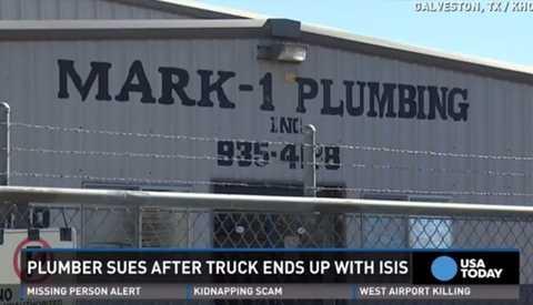 Thương hiệu Mark-1 Plumbing là của xưởng dịch vụ sửa ống nước tại bang Texas