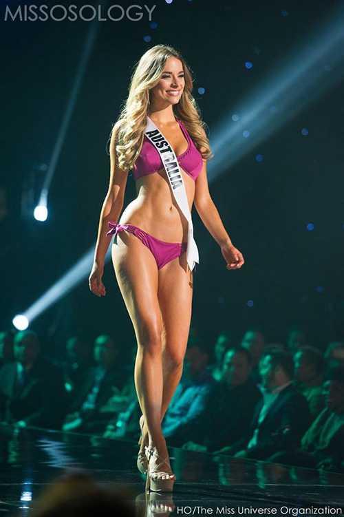 Đại diện Australia Monika Radulovic cũng lọt