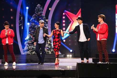 Hồng Nhung, Alex Tú, Huy Tuấn làm giám khảo đêm Chung kết.
