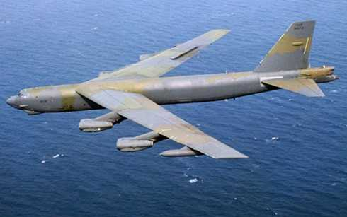 Máy bay B-52 của Mỹ không chủ ý bay vào trong khu vực 12 hải lý