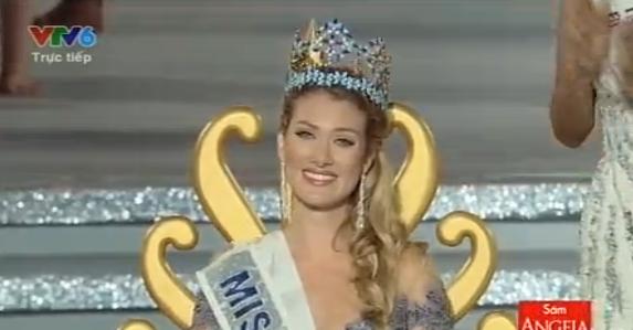 Người đẹp đến từ Tây Ban Nha đăng quang Hoa hậu Thế giới 2015
