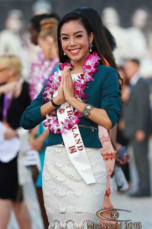 Đại diện Thái Lan - Thanyachanok Moonninta.