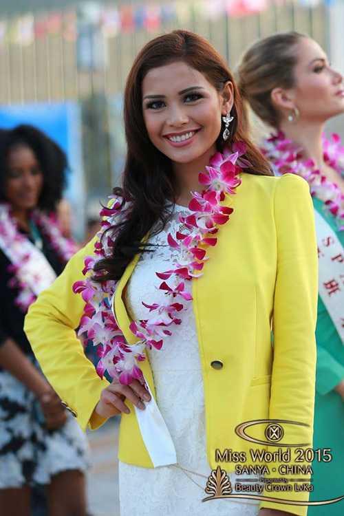Đại diện Philippines - Hillarie Parungao.
