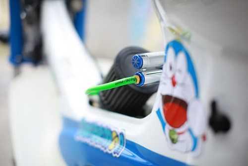 Thông hơi Uma Racing giúp máy đỡ nóng rát chân khi chạy tốc độ cao