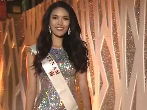 Lan Khuê có mặt trong Top 11 Hoa hậu Thế giới 2015.