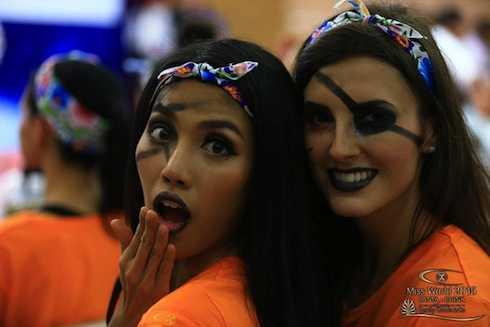 Cô cũng rất tích cực trong vòng Hoa hậu thể thao, tuy nhiên chỉ về đích vị trí thứ 9 trong đội màu cam.