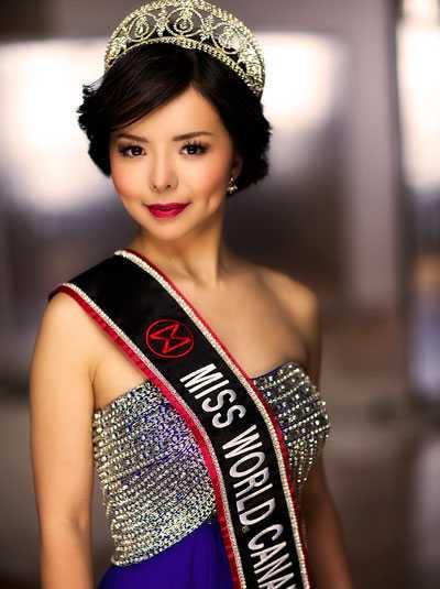 Anastasia Lin, Hoa hậu Thế giới Canada 2015.
