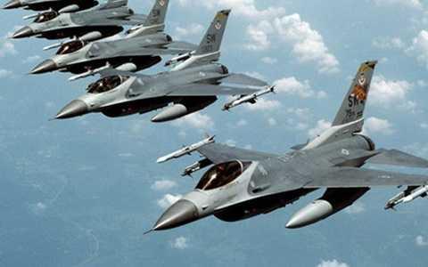 Máy bay NATO. Ảnh: Globalresearch