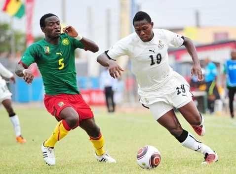 Chân sút Fiamenyo (19) từng được khoác áo ĐTQG Ghana