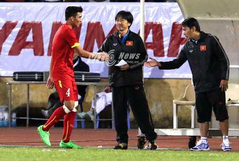 Thầy trò HLV Miura sẽ có 2 trận giao hữu chất lượng tại Qatar (Ảnh: Quang Minh)