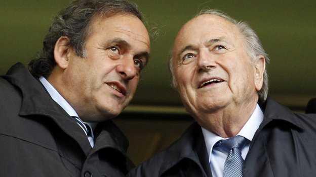 Hai người đàn ông quyền lực nhất của bóng đá thế giới