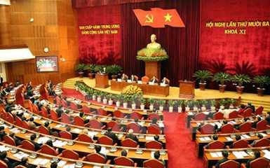 Ban Chấp hành Trung ương khóa XI đã quyết định triệu tập Đại hội đại biểu toàn quốc lần thứ XII của Đảng từ ngày 20/1/2016 đến ngày 28/1/2016 tại Thủ đô Hà Nội