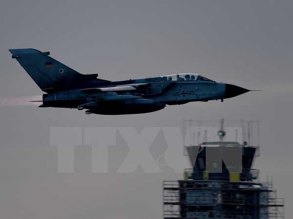 Máy bay trinh sát Tornado của Không quân Đức tại căn cứ không quân ở Jagel, miền Bắc nước Đức