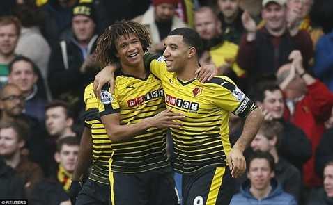 Watford vừa đại thắng Liverpool tối qua