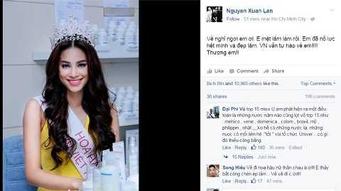 Cựu siêu mẫu Xuân Lan hết lời khen ngợi Phạm Hương.