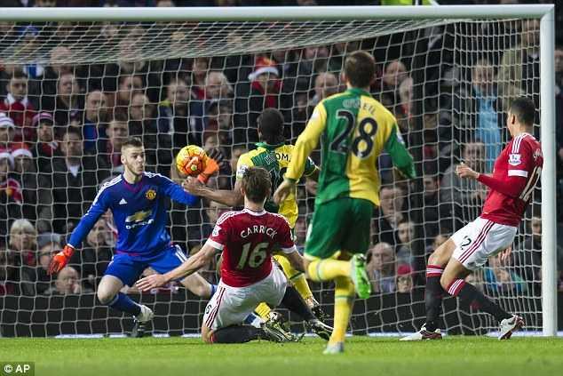 Man Utd thua cả Norwich